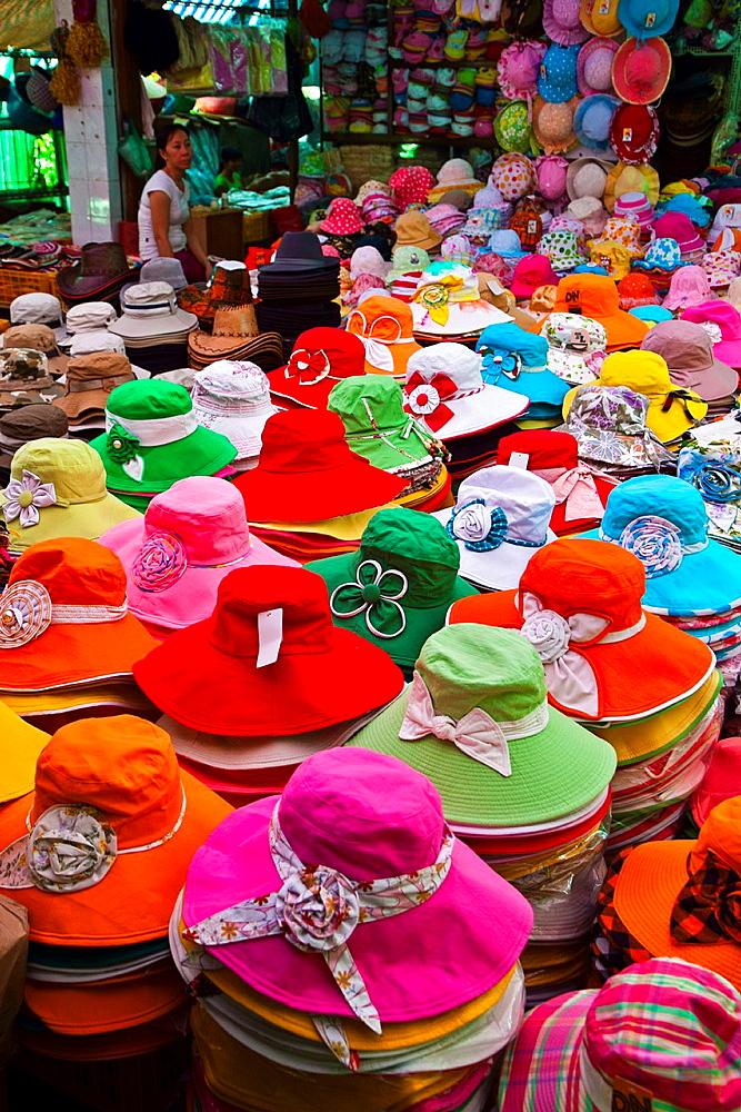 Binh Tay Market Cho lon. Ho Chi Minh City (formerly Saigon), South Vietnam