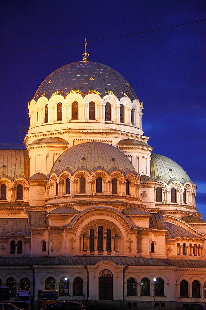 Bulgaria, Sofia, Alexander Nevsky Cathedral,