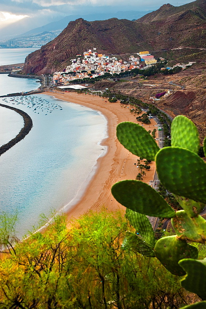 Las Teresitas Beach and San Andres neighborhood Tenerife Canary Islands Spain - 817-321457