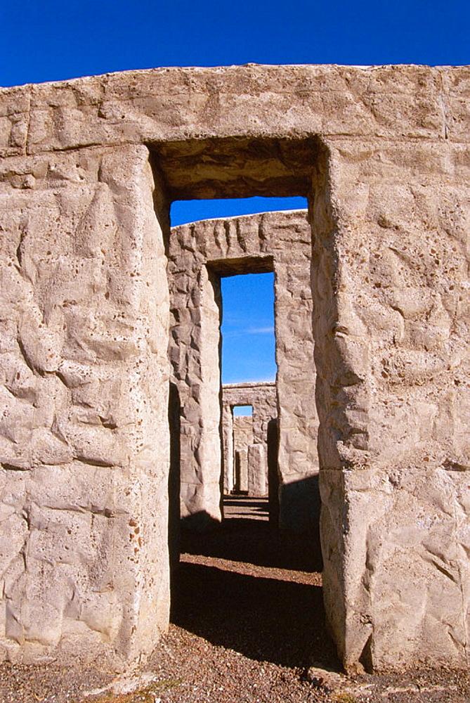 Replica of Stonehenge, Maryhill, Washington, USA