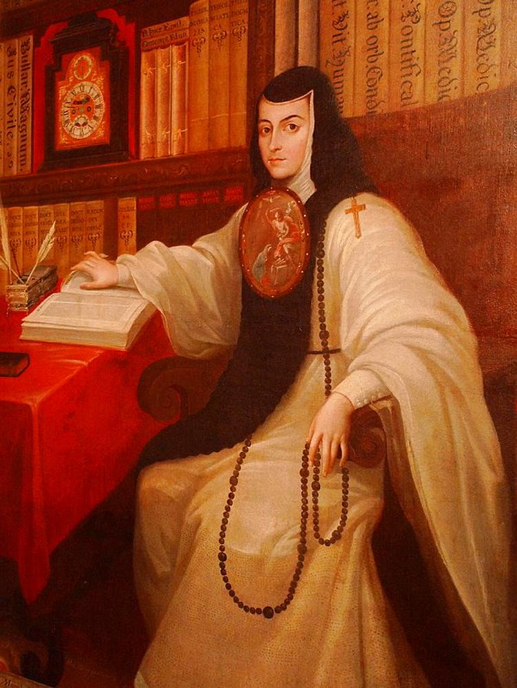 Sor Juana Ines de la Cruz painting, National History Museum, Chapultepec Castle