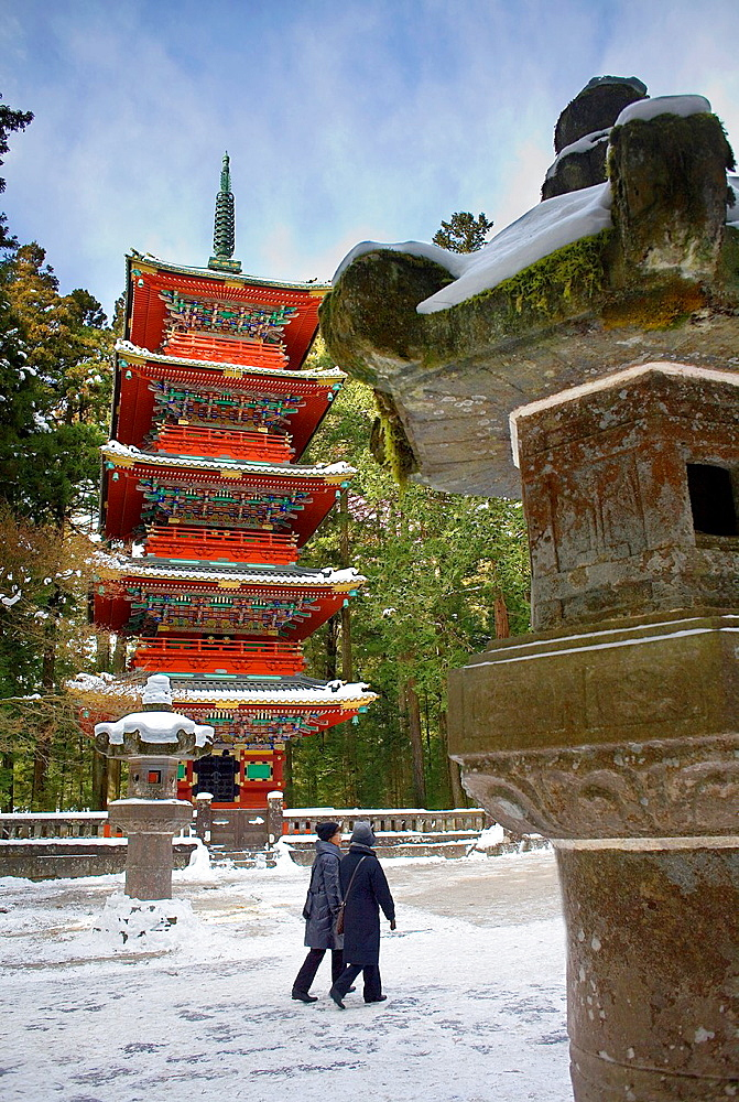Toshogu Five-Storied Pagoda, Nikko, Japan