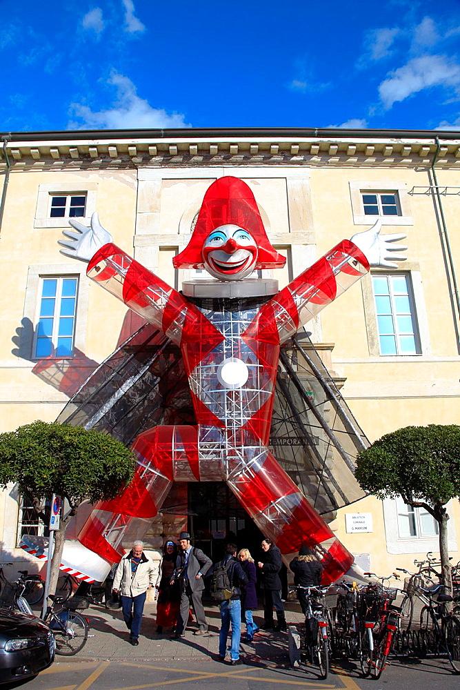 Viareggio carnival, Lucca, Tuscany, Italy - 817-331062