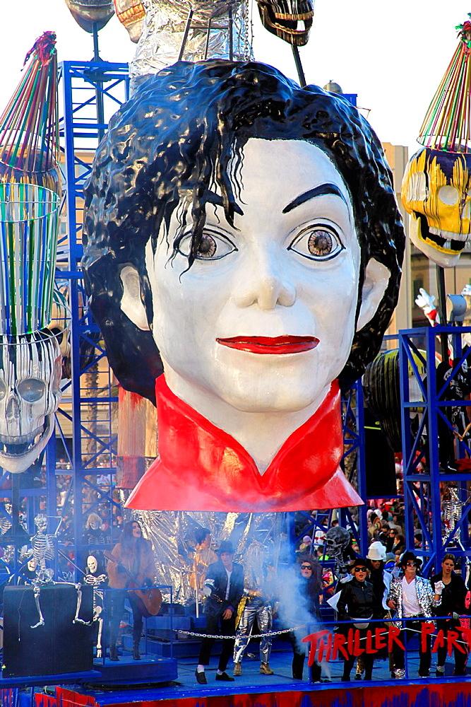 Viareggio carnival, Lucca, Tuscany, Italy - 817-343049