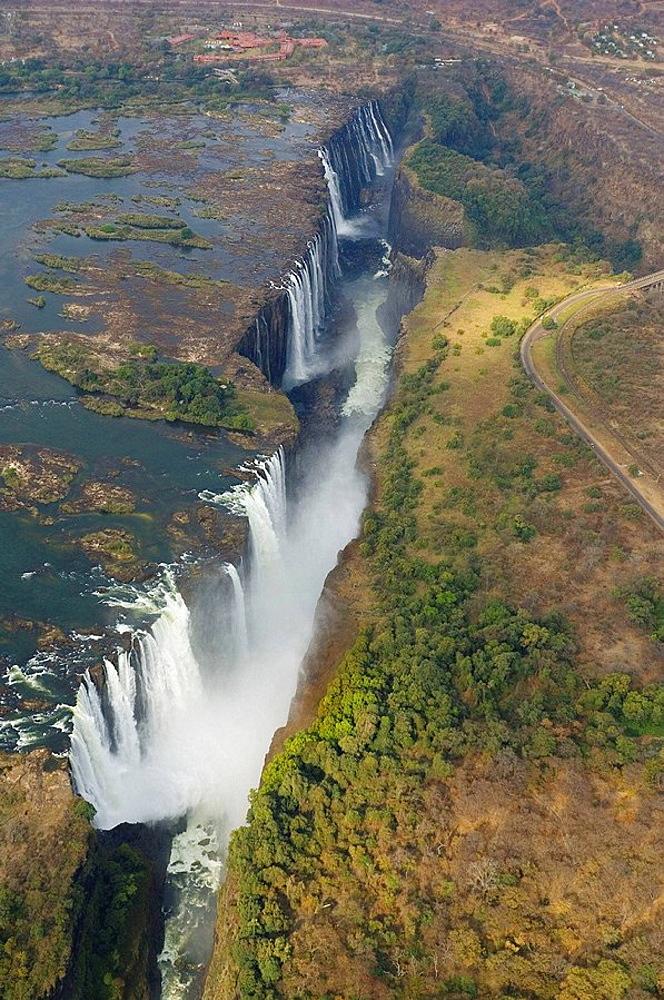 Victoria Falls, Zimbabwe-Zambia.