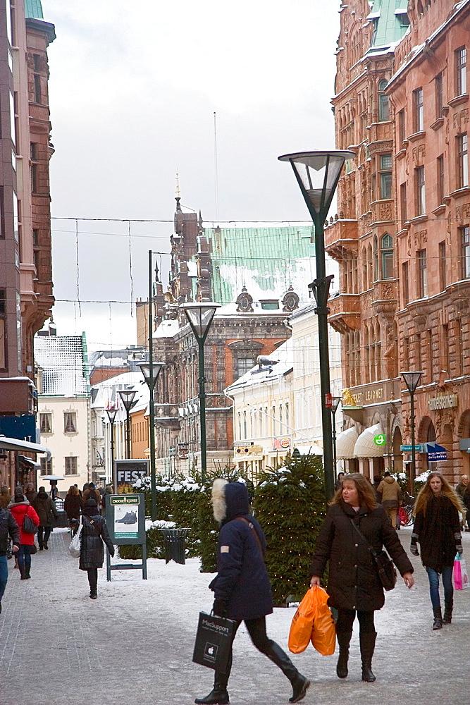 Urban scene at Malmo
