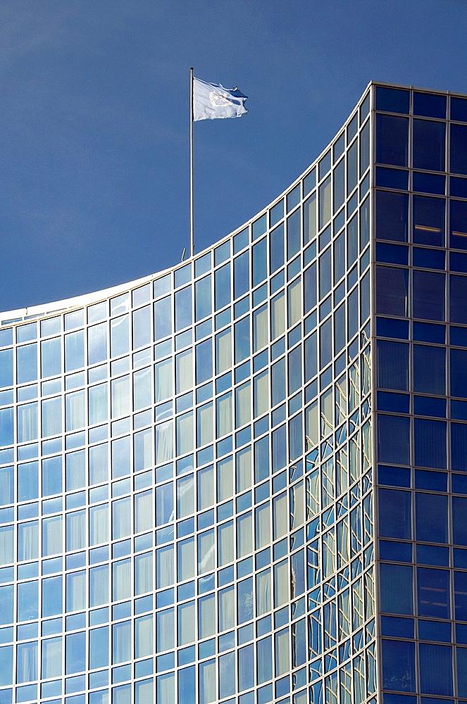 building of WIPO, World Intelectual Property Organization, Geneva, Switzerland