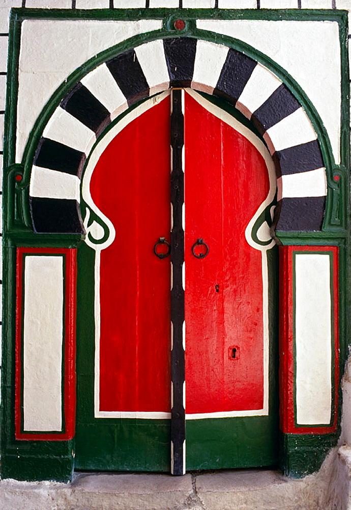 House in the medina, Tunis, Tunisia