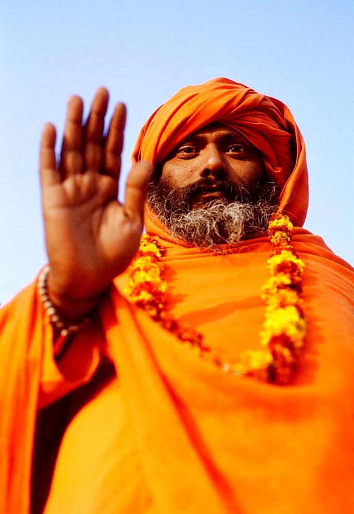 Sadhu, Varanasi, Uttar Pradesh, India - 817-35642