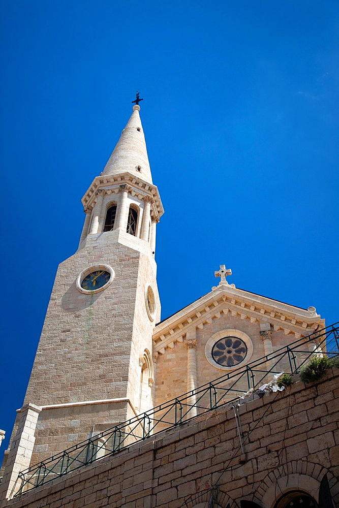 Israel, West Bank, Bethlehem, Lutheran Christmas Church