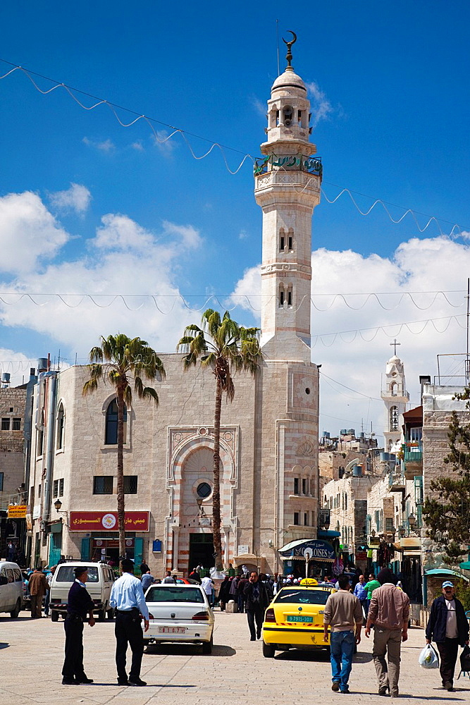 Israel, West Bank, Bethlehem, Mosque of Omar