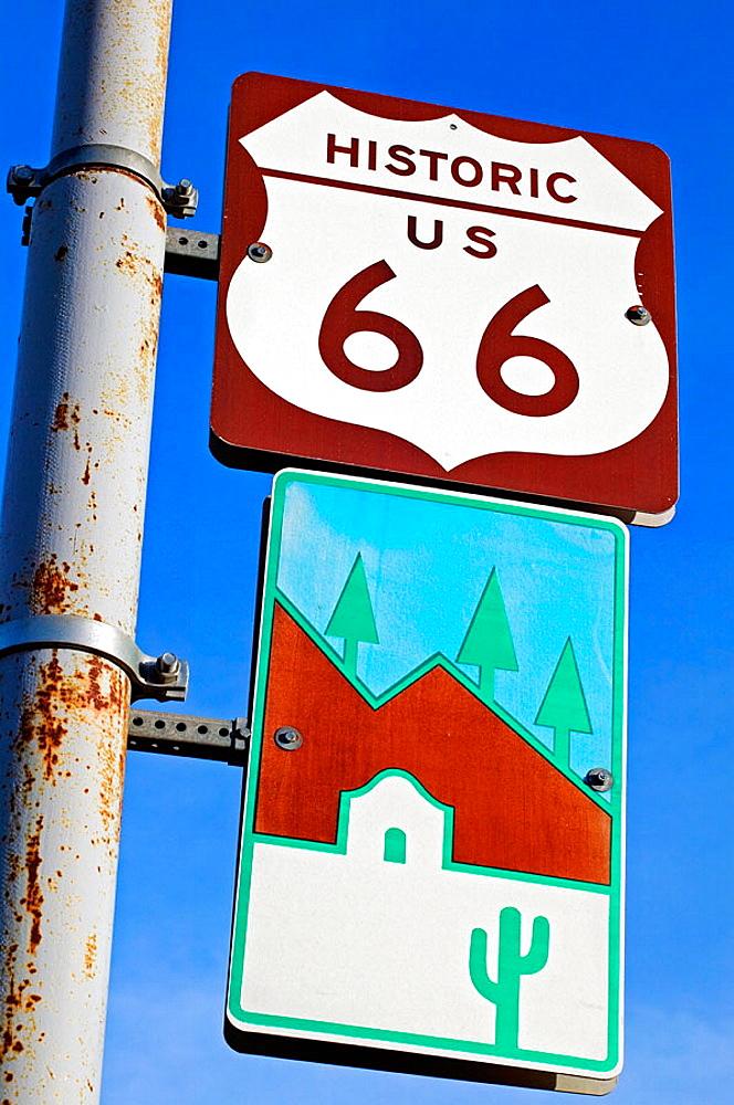 Route 66, Flagstaff, Arizona, USA