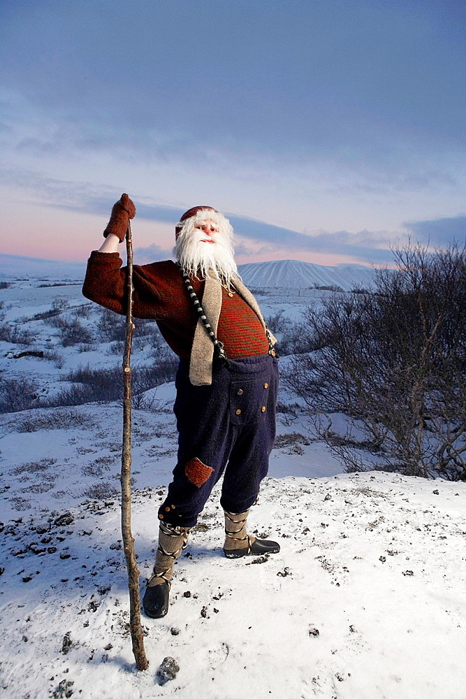 Icelandic Yule Lad aka Santa Claus, Iceland The Yule Lads or Yulemen are from Icelandic Folklore who in modern times have become the Icelands version of Santa Claus Christmas tradition in Iceland tells of 13 prankster trolls known as Yule Lads who delig.
