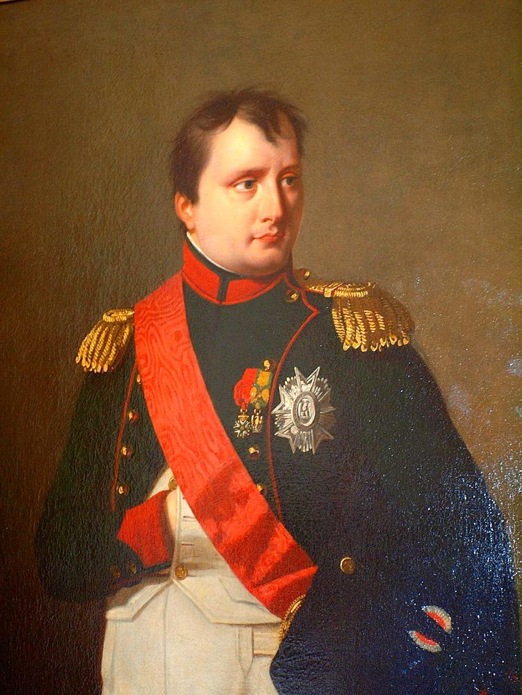 Napoleon Bonaparte portrait. Museo Napoleonico. Havana. Cuba.