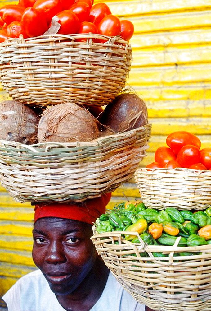 Market, Port au Prince, Haiti