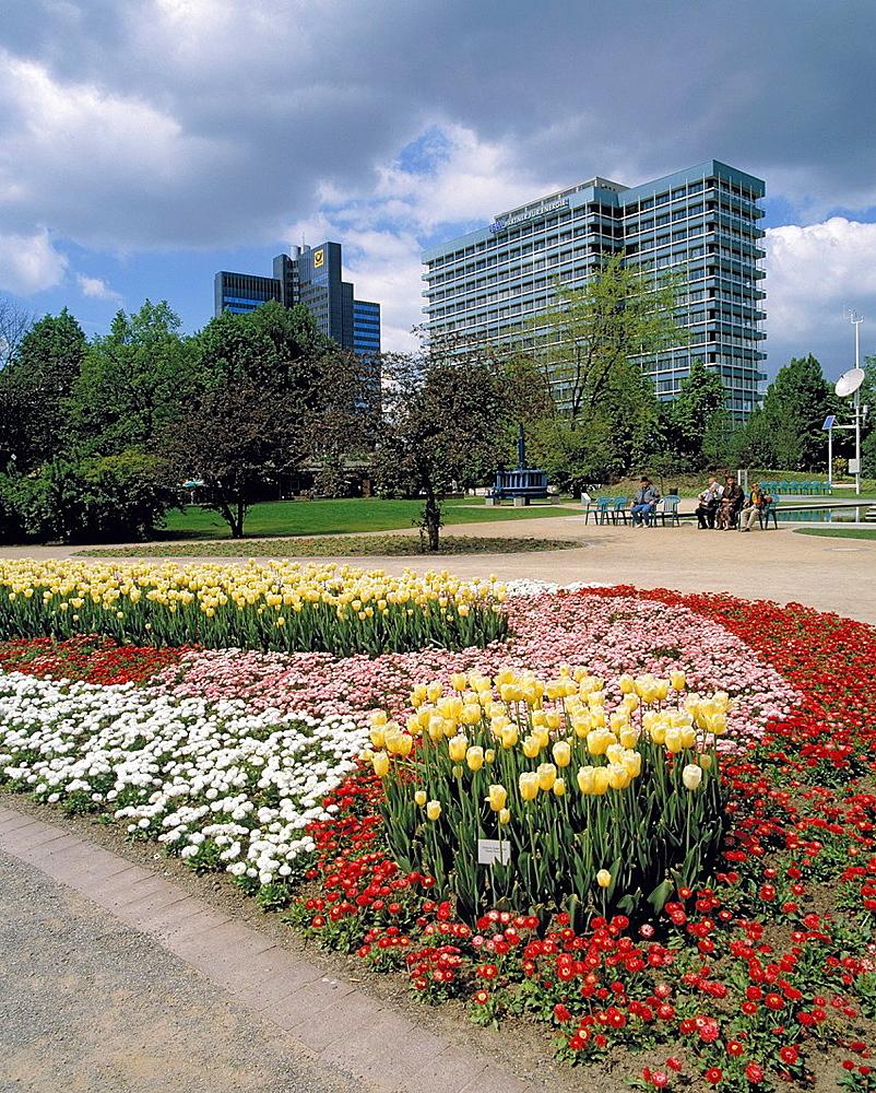 D-Dortmund, Ruhr area, Westphalia, North Rhine-Westphalia, NRW, Westfalenpark, Westphalian Park, landscape gardens, Bundesgartenschau 1991, BUGA 1991