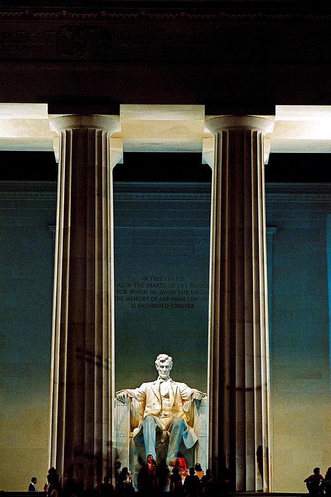Lincoln Memorial, Washington D.C, USA