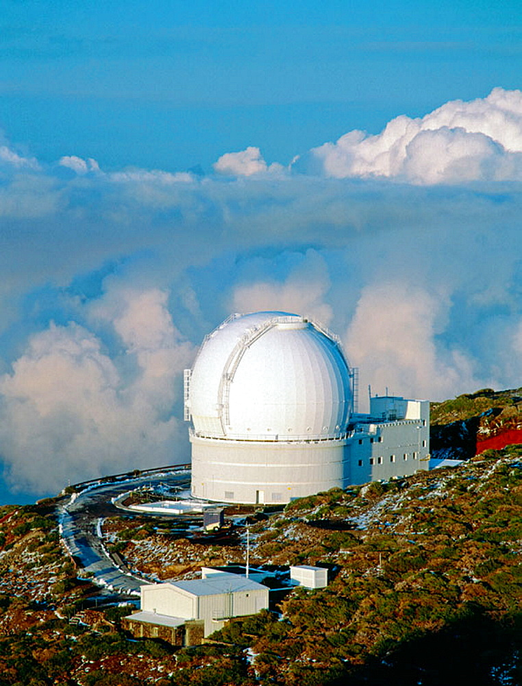 Astronomical observatory in 'El Roque de los Muchachos', La Palma, Canary Islands, Spain - 817-37630