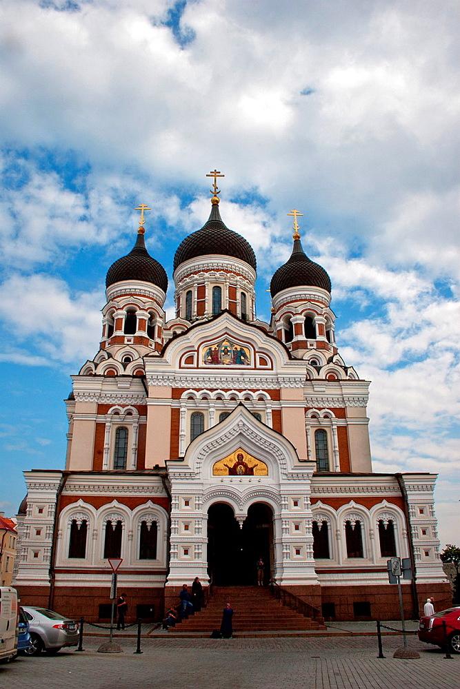 Saint Alexander Nevsky Cathedral The Estonian Orthodox Church of Moscow Patriarchate, Tallinn, Harju, Estonia
