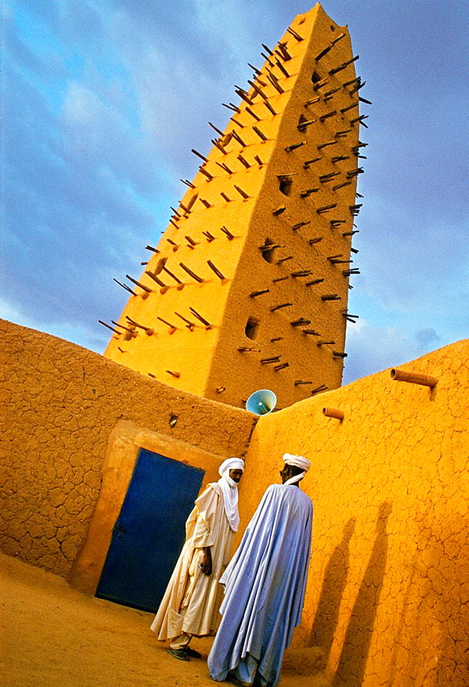 Grand Mosque built in 1515, Agadez, Niger