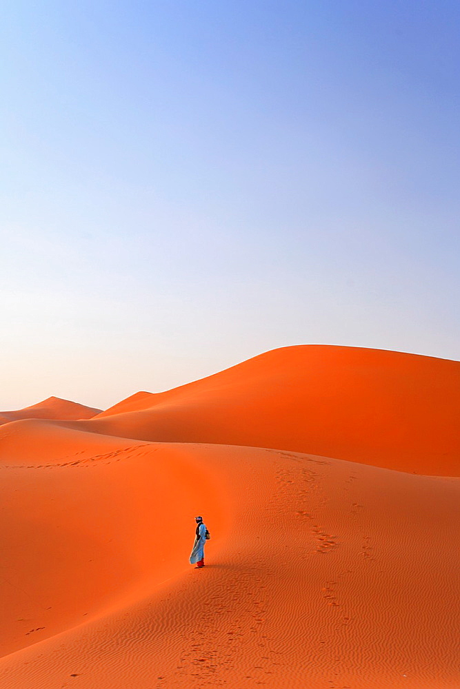 Morocco, Merzouga, Erg Chebbi Desert