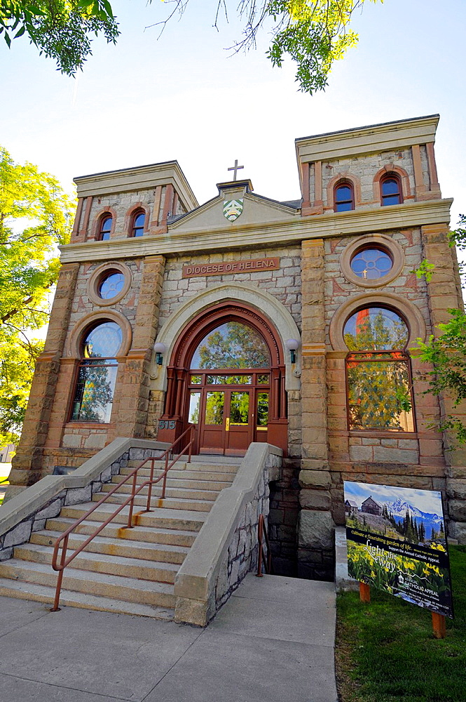Catholic Diocese Building Offices Helena Montana MT US