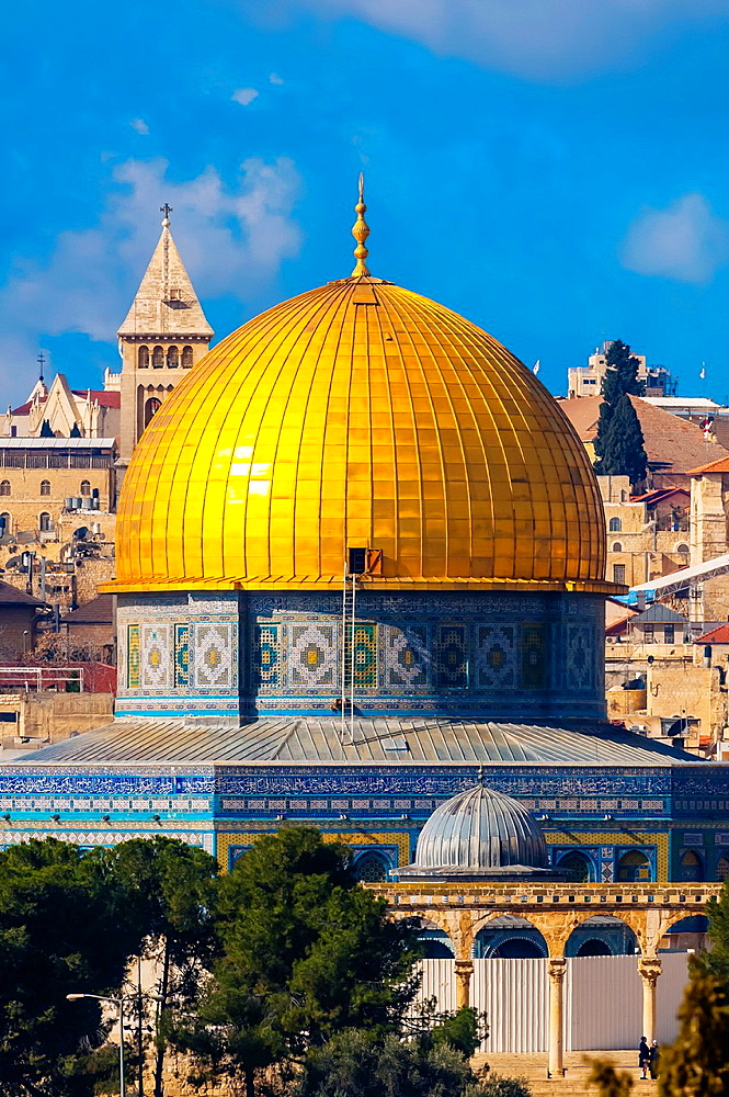 Dome of the Rock, Temple Mount Mount Mariah, Old City, Jerusalem, Israel