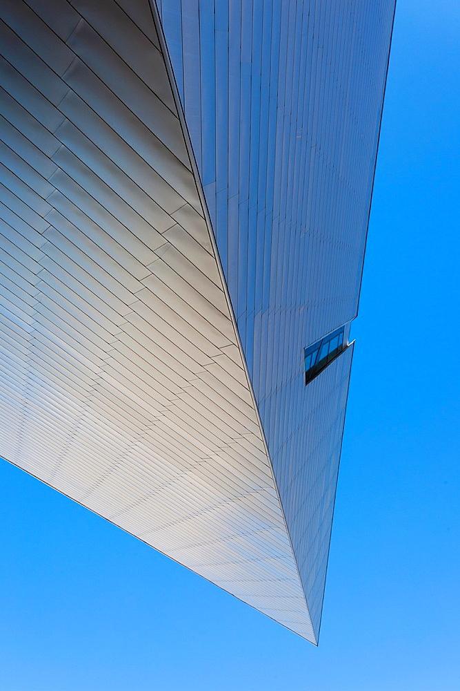 USA, Colorado, Denver, Denver Art Museum, designed by Daniel Liebeskind and Davis Partnership Architects