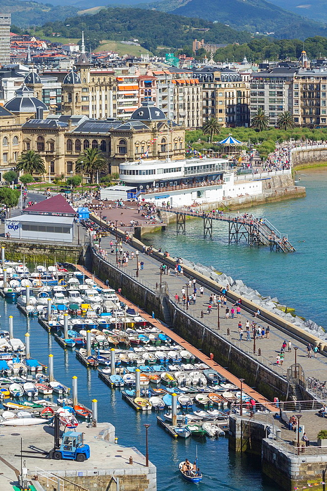 San Sebastian, Donostia, Basque country, Spain