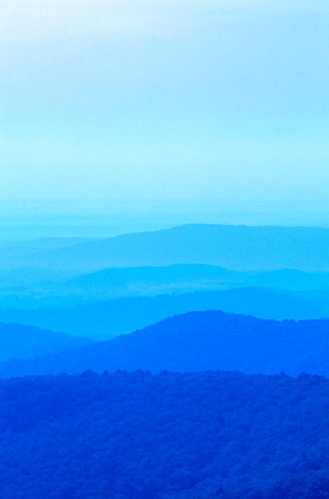 Blue Ridge Mountains, Shenandoah National Park, Virginia, USA