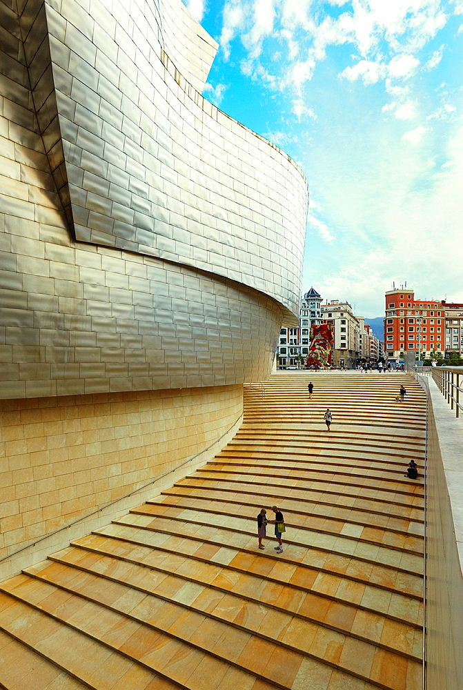 Guggenheim Museum Bilbao, Biscay, Basque Country, Spain