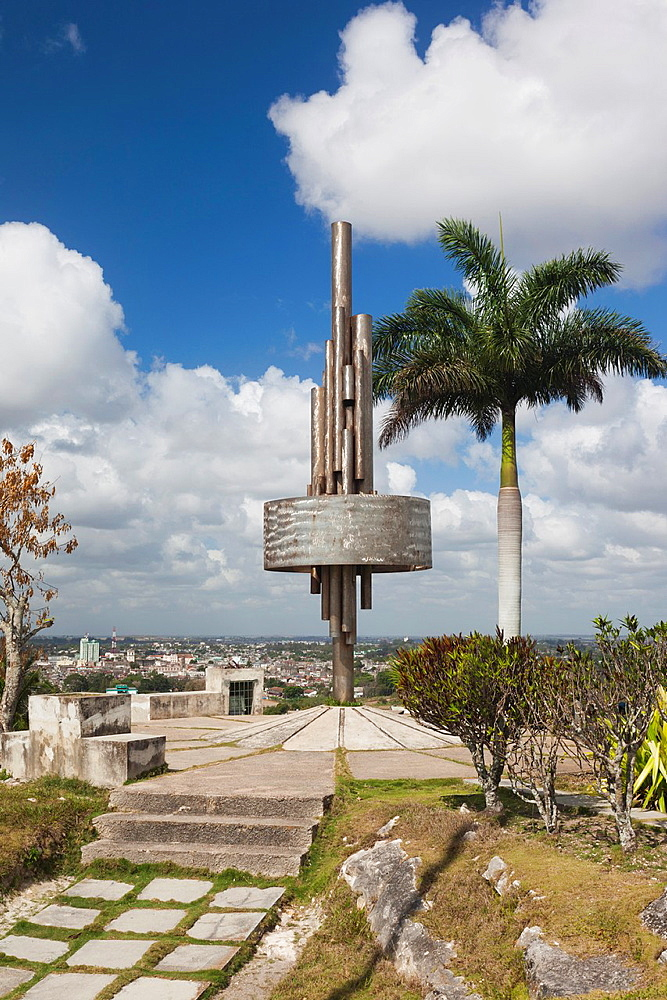 Cuba, Santa Clara Province, Santa Clara, monument atop the Lomo de Caparo
