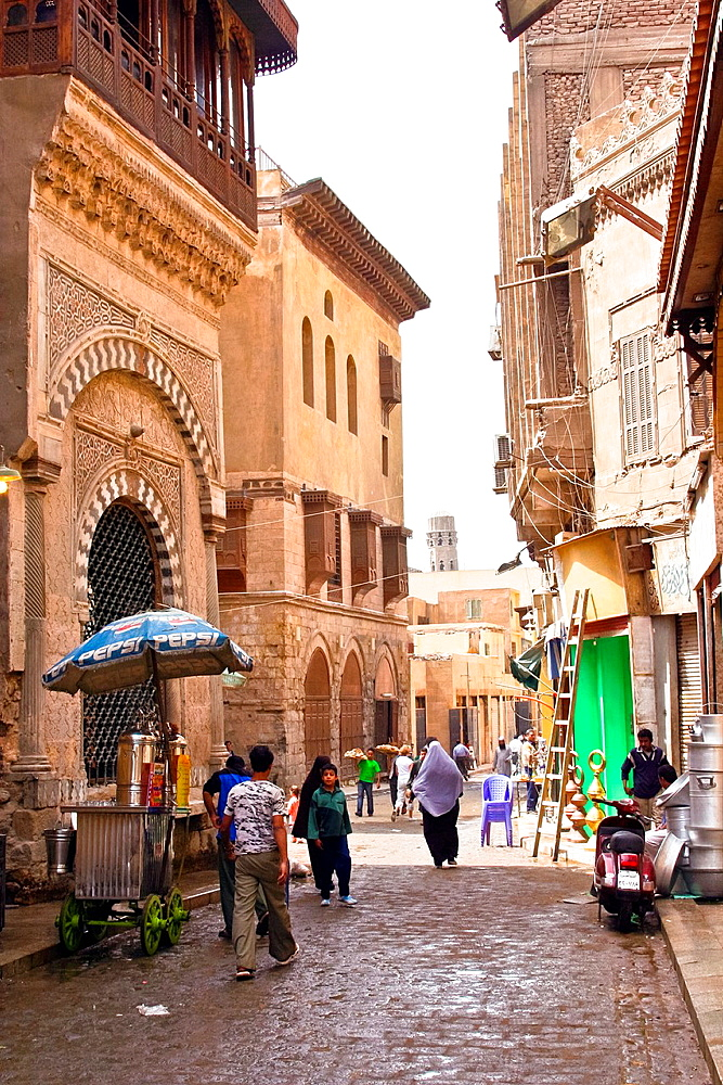 Al-Muizz li-Din Allah Street, city of Cairo, Egypt