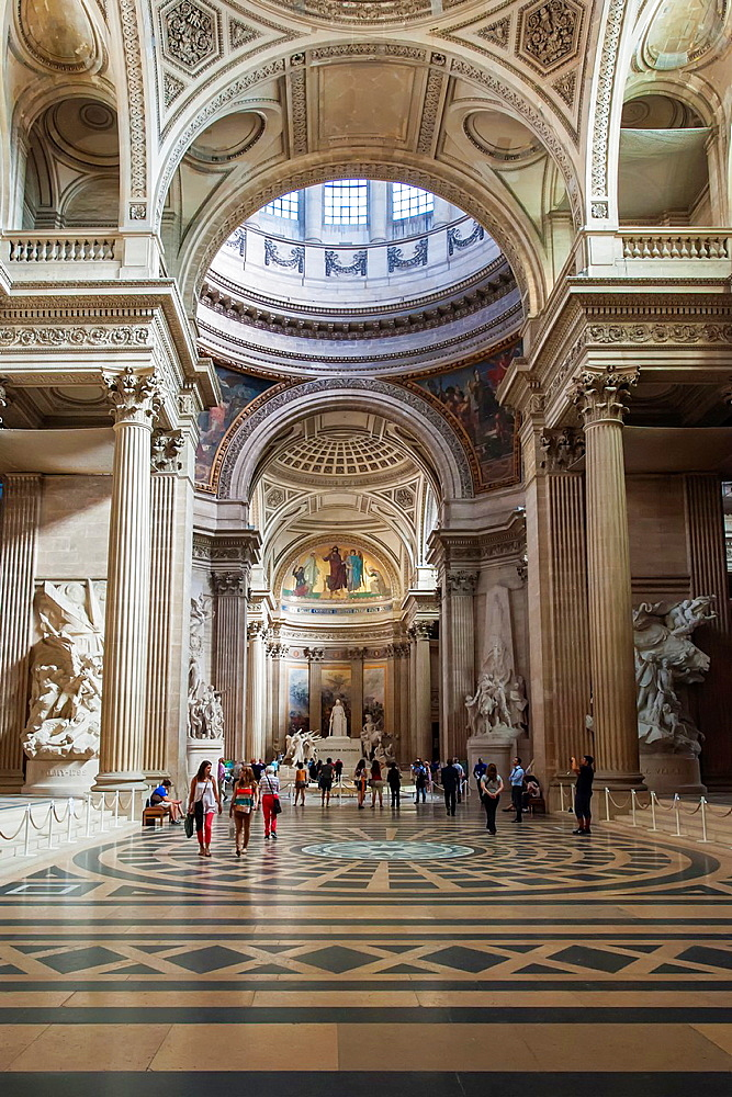 Pantheon, Interior, Paris, France