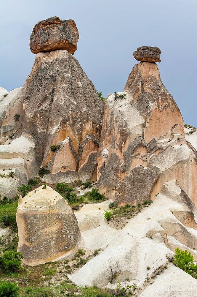 Goreme National Park, Rock formation, Love valley, Cappadocia, Turkey, Unesco World Heritage Site