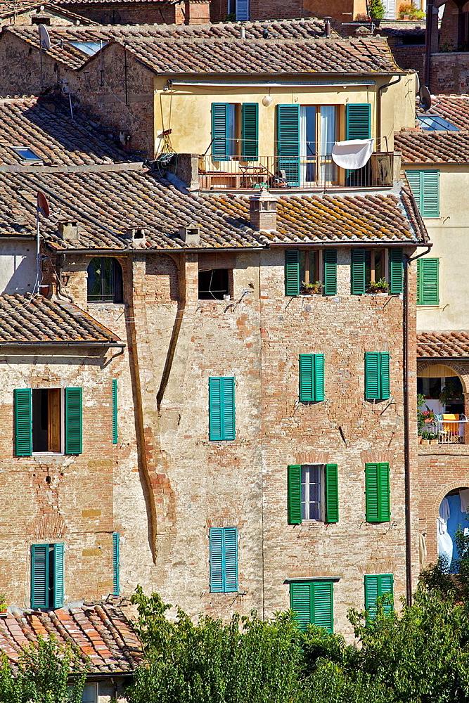 Homes of the Hill Top Village of Cortona