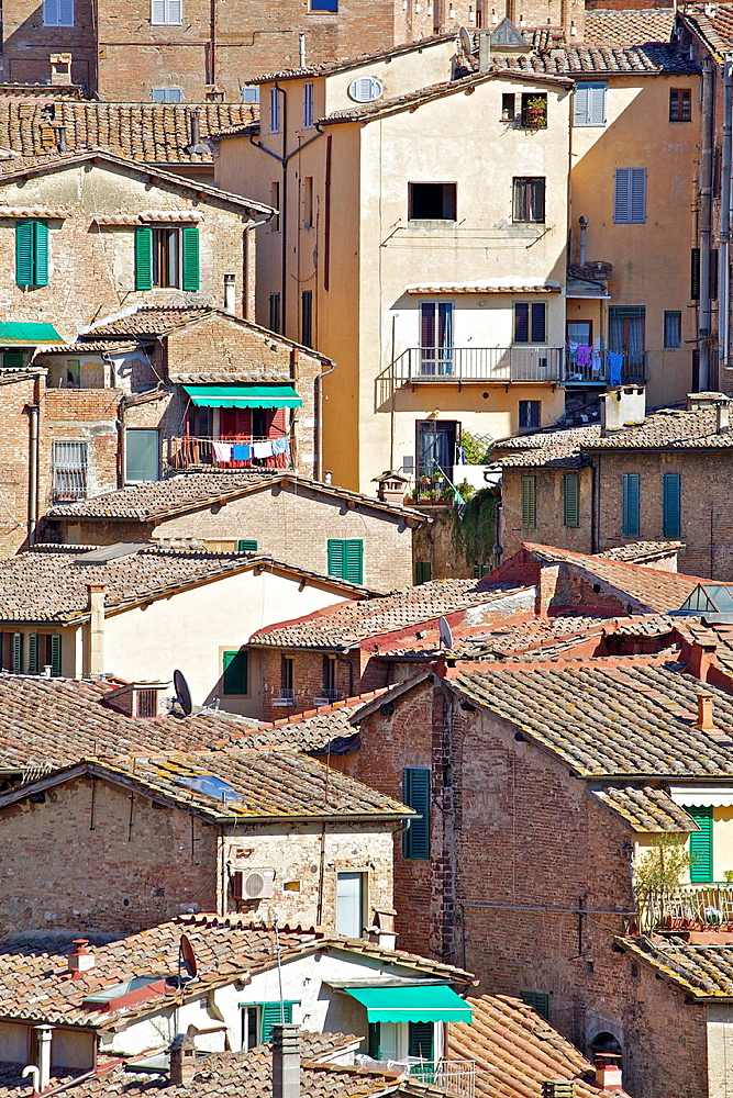 Typical Homes in the Hill Town Cortona