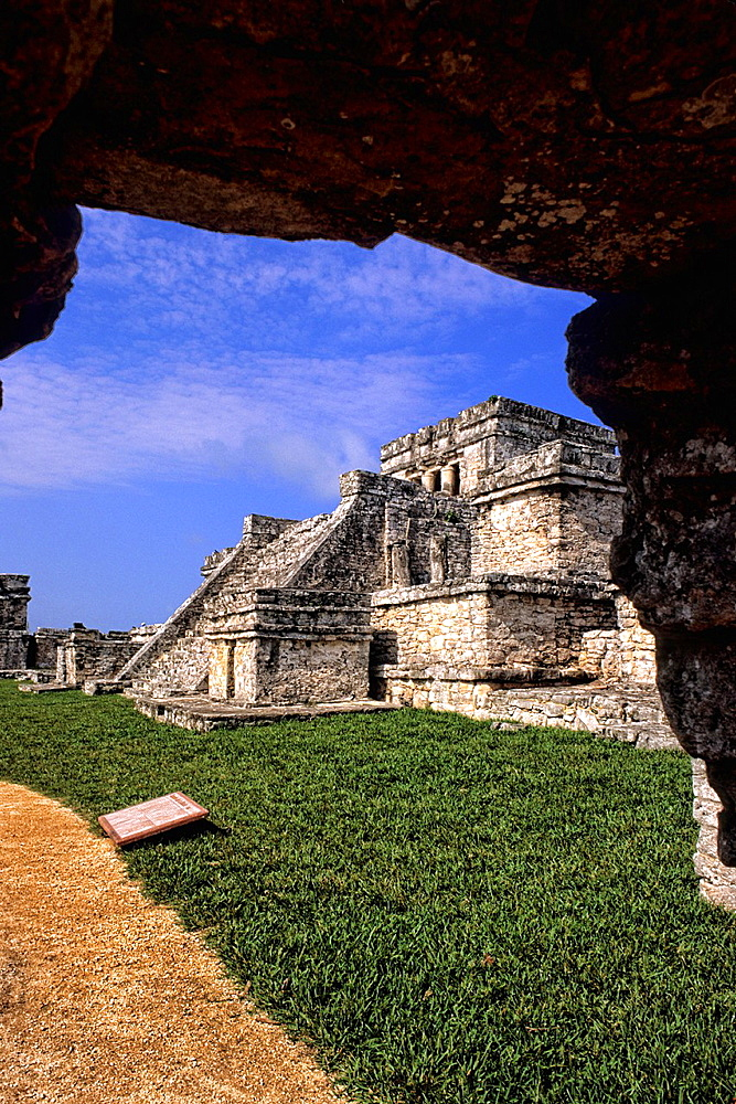 Beautiful Tulum Ruins in Riviera Maya Mexico