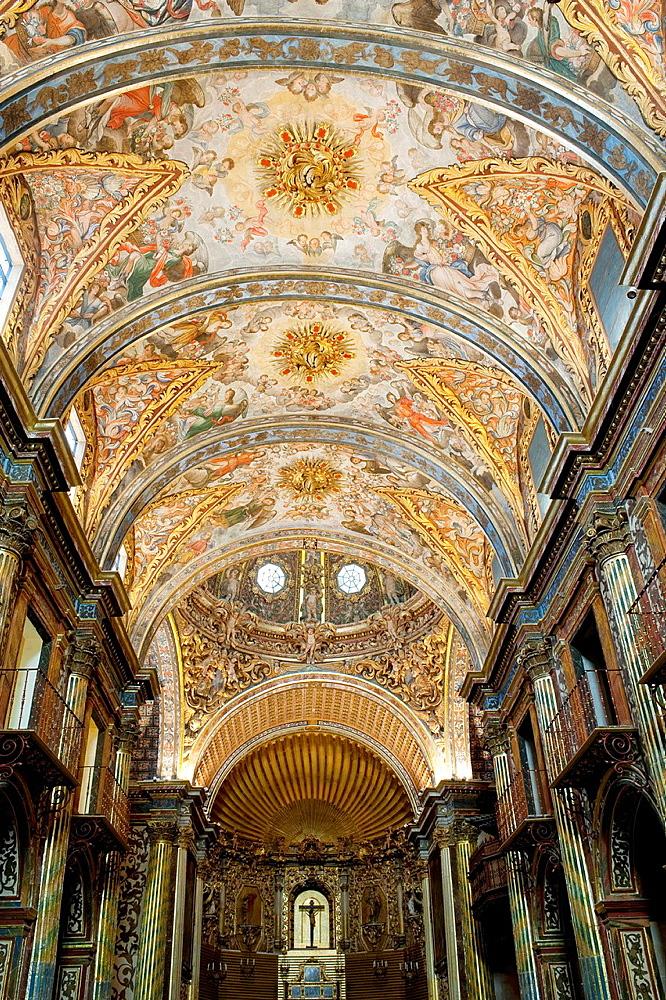 Dome of the church Santo Domingo, Orihuela Alicante province, Comunidad Valenciana, Spain