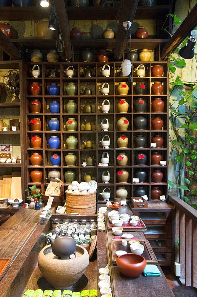 Teahouse at Jiufen, Taiwan.