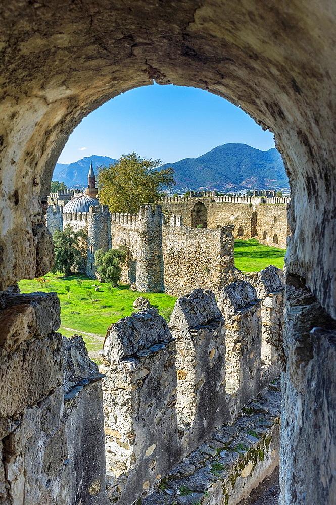 Mamure castle, Anamur, Anatolia, Southwest Turkey