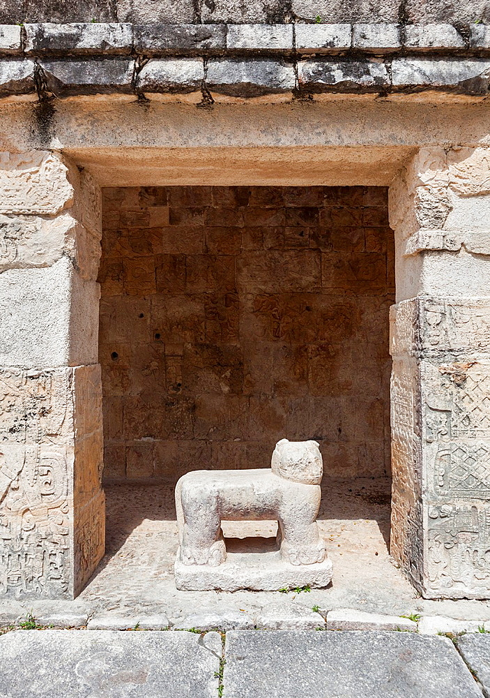 Templo de los Jaguares, Chichen Itza, Yucatan Peninsula, Quintana Roo, Mexico
