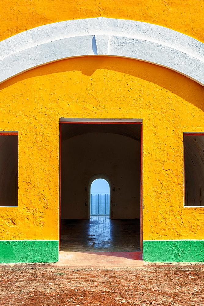 Fort Castillo San Felipe del Morro, San Juan National Historic Site, a national park in Old San Juan, Puerto Rico