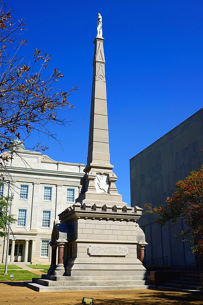 Confederate Monument Jackson, Mississippi, United States of America
