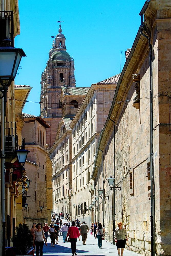 Pontifical University and La Clerecia Church of Salamanca, city declarated World Heritage by UNESCO Castilla y Leon Spain