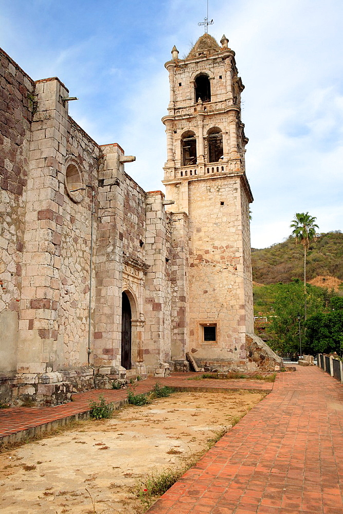 San Jose church 1765, Copala, Sinaloa, Mexico