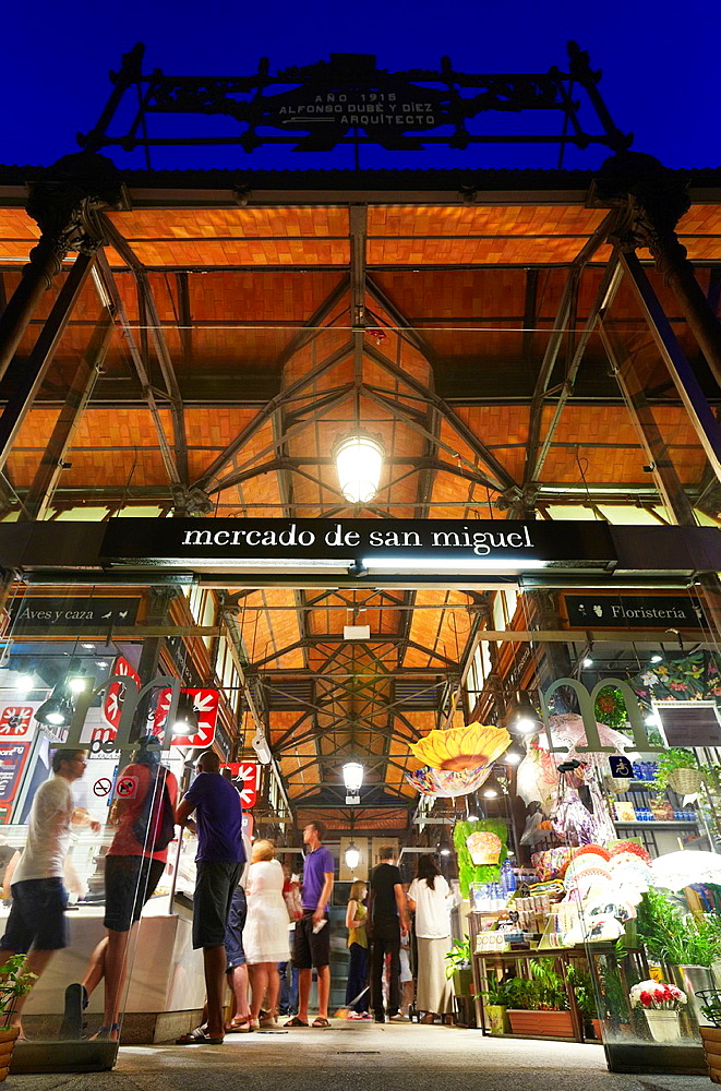 San Miguel market, Madrid, Spain