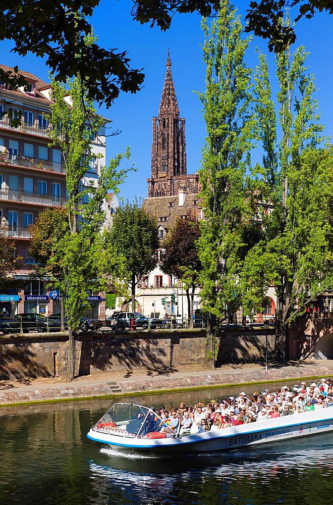 Batorama sight-seeing boat Strasbourg Alsace France