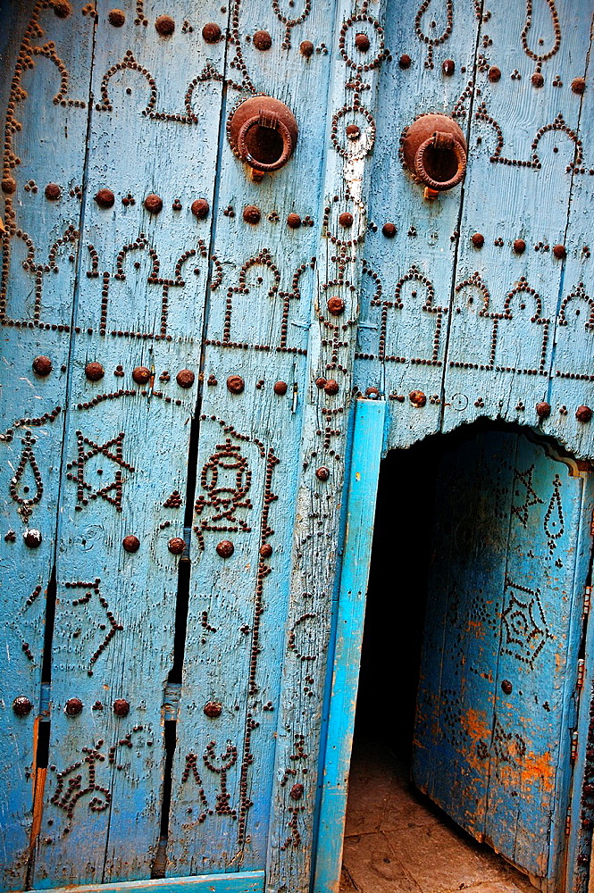 Door, Medina, Tunis Tunisia.