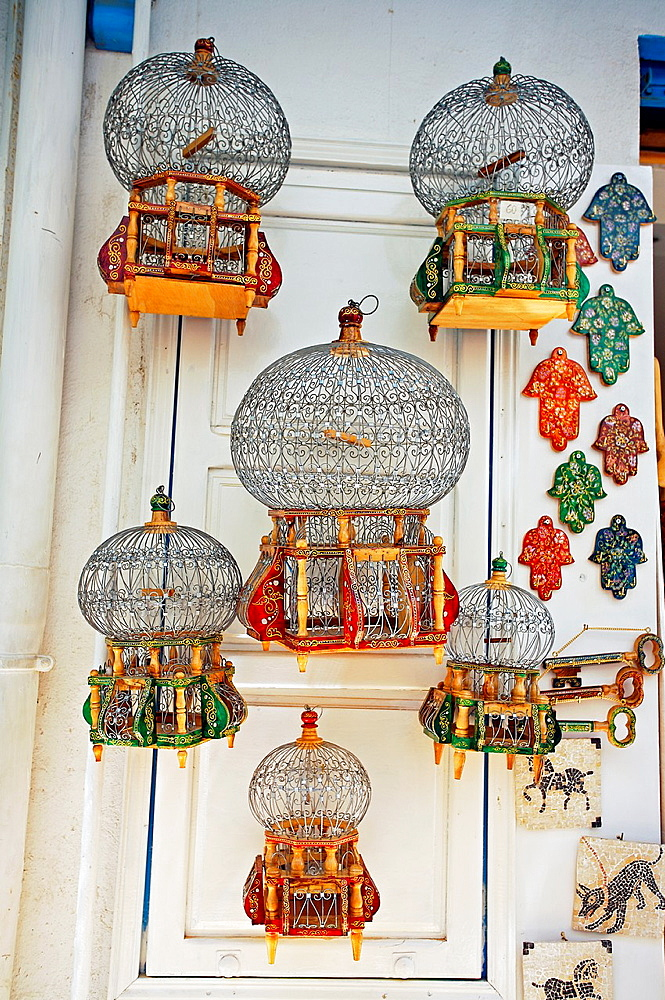 Bird Cages, Medina, Tunis Tunisia.